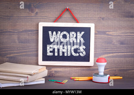 Work ethics, Business Concept - Stock Photo
