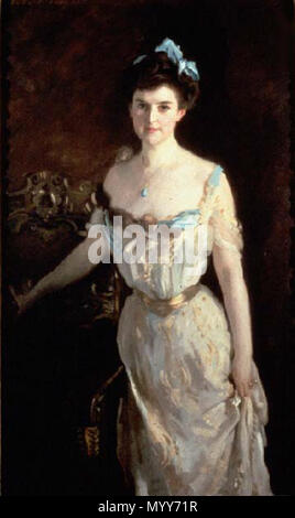 . English: Mrs. Charles Pelham Curtis 1903 Portland Museum of Art, Portland, Maine Oil on canvas 152.2 x 76.2 cm (60 x 30 in.) Inscription: (Upper left:) John S. Sargent (Upper right:) 1903 signed Accession Number: 1982.275  . 1903. John Singer Sargent Born: January 12, 1856, Florence Died: April 14, 1925, London, United Kingdom 71 Mrs. Charles Pelham Curtis