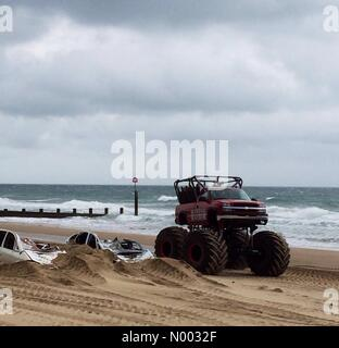 Bournemouth, UK. 29th May, 2015. Visitors flock to the second Bournemouth Wheels Festival. The event in includes - Stock Photo