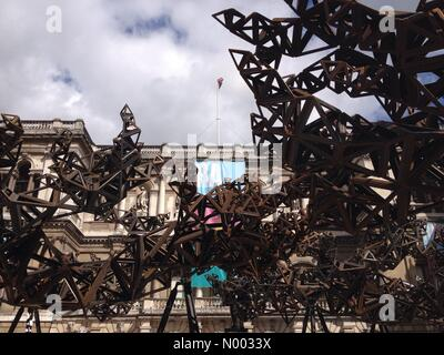 London, UK. 3rd June, 2015. Royal Academy Summer Exhibition press view at Burlington house in central London Credit: - Stock Photo