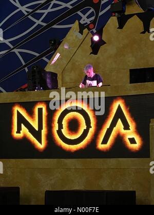 Las Vegas, Nevada, USA. 17th June, 2017. Noa at edc Credit: beccalynnweeks / StockimoNews/Alamy Live News - Stock Photo
