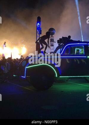 Las Vegas, Nevada, USA. 20th May, 2018. Las Vegas, Nevada, May 19, 2018 - edc Las Vegas - Festival Color - photo credit: Rebecca Weeks Howard/Alamy Credit: RebeccaWeeksHoward/StockimoNews/Alamy Live News - Stock Photo