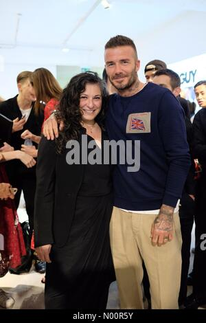 London, UK. 11th June 2018. David Beckham at the London Fashion Week Mens SS19 Credit: KrisztianPinter/StockimoNews/Alamy Live News Stock Photo