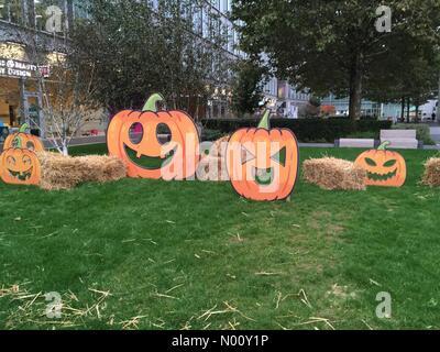 London, UK. 17th Oct 2018. White City Place ready for Halloween, London UK Credit: Janet Priddle/StockimoNews/Alamy Live News Stock Photo