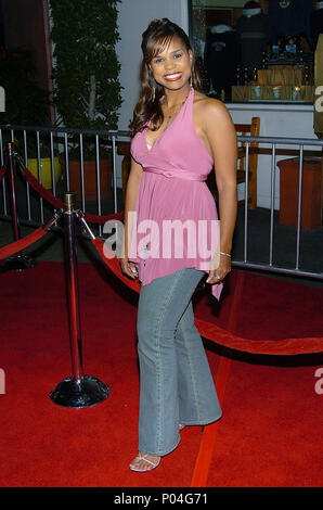 Kimberly Brooks (huffs) arriving at the Meet The Fockers Premiere at the Universal Amphitheatre in Los Angeles. December 16, 2004.BrooksKimberly_Huff108 Red Carpet Event, Vertical, USA, Film Industry, Celebrities,  Photography, Bestof, Arts Culture and Entertainment, Topix Celebrities fashion /  Vertical, Best of, Event in Hollywood Life - California,  Red Carpet and backstage, USA, Film Industry, Celebrities,  movie celebrities, TV celebrities, Music celebrities, Photography, Bestof, Arts Culture and Entertainment,  Topix, vertical, one person,, from the year , 2004, inquiry tsuni@Gamma-USA.c - Stock Photo