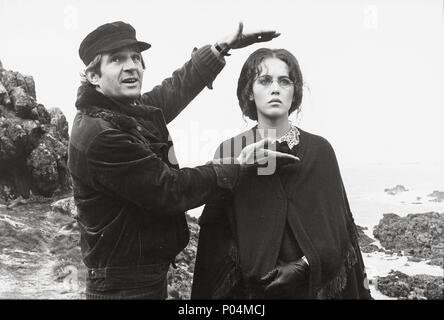 Original Film Title: L' HISTOIRE D'ADELE H..  English Title: STORY OF ADELE H, THE.  Film Director: FRANCOIS TRUFFAUT.  Year: 1975.  Stars: FRANCOIS TRUFFAUT; ISABELLE ADJANI. Credit: LES FILMS DU CARROSSE/LES PRODUCTIONS ARTISTES ASSOCIES / Album - Stock Photo