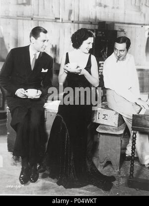 Original Film Title: TROUBLE IN PARADISE.  English Title: TROUBLE IN PARADISE.  Film Director: ERNST LUBITSCH.  Year: 1932.  Stars: ERNST LUBITSCH; HERBERT MARSHALL; KAY FRANCIS. Credit: PARAMOUNT PICTURES / Album - Stock Photo