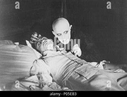 Original Film Title: NOSFERATU: PHANTOM DER NACHT.  English Title: NOSFERATU THE VAMPYRE.  Film Director: WERNER HERZOG.  Year: 1979.  Stars: KLAUS KINSKI; BRUNO GANZ. Credit: WERNER HERZOG FILMPRODUKTION / Album