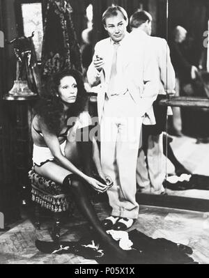 Original Film Title: MEPHISTO.  English Title: MEPHISTO.  Film Director: ISTVAN SZABO.  Year: 1981.  Stars: KLAUS-MARIA BRANDAUER. Credit: OBJEKTIV STUDIO / Album - Stock Photo
