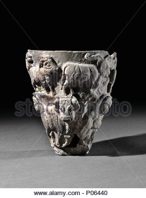 Stone Cult Vessel From Mesopotamia 3400 3200 Bce This Was The