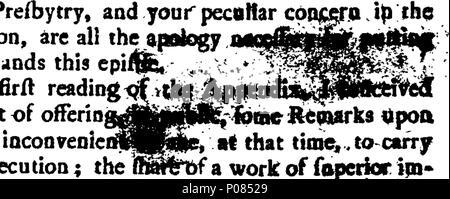 . English: Fleuron from book: A letter, &c. 126 A letter, etc. Fleuron T155021-1 - Stock Photo
