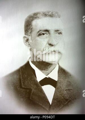 . English: Pedro Jose Escalon, president of El Salvador (1903-1907)  . 10 March 2013, 15:20:25. Brigadier044 1 Escalon - Stock Photo
