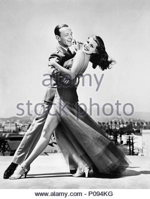 Original Film Title: YOU'LL NEVER GET RICH.  English Title: YOU'LL NEVER GET RICH.  Film Director: SIDNEY LANFIELD.  Year: 1941.  Stars: FRED ASTAIRE; RITA HAYWORTH. Credit: COLUMBIA PICTURES / Album - Stock Photo