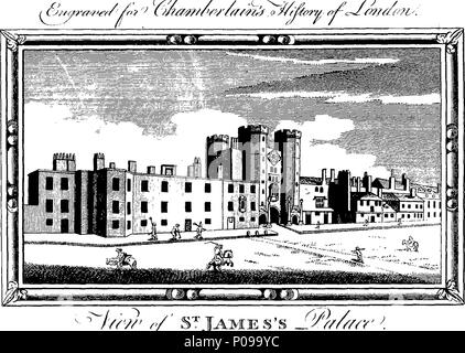 . English: Fleuron from book: A new and compleat history and survey of the cities of London and Westminster, the Borough of Southwark, and Parts adjacent; from the earliest accounts, to the begining of the year 1770. Containing I. An Account of the original Foundation, and modern State of those Places. II. Their Laws, Charters, Customs, Privileges, Immunities, Government, Trade and Navigation. III. A Description of the several Wards, Parishes, Liberties, Precincts, Churches, Palaces, Noblemen's Houses, Hospitals, and other public Buildings. IV. An Account of the Curiosities of the Tower of Lon - Stock Photo