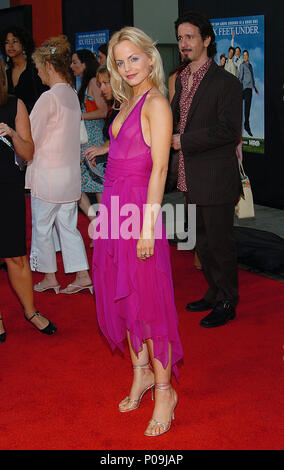 Mena Suvari arriving at the Six Feet Under Premiere at the Chinese Theatre in Los Angeles. June 2, 2004.SuvariMena004 Red Carpet Event, Vertical, USA, Film Industry, Celebrities,  Photography, Bestof, Arts Culture and Entertainment, Topix Celebrities fashion /  Vertical, Best of, Event in Hollywood Life - California,  Red Carpet and backstage, USA, Film Industry, Celebrities,  movie celebrities, TV celebrities, Music celebrities, Photography, Bestof, Arts Culture and Entertainment,  Topix, vertical, one person,, from the year , 2004, inquiry tsuni@Gamma-USA.com Fashion - Full Length - Stock Photo