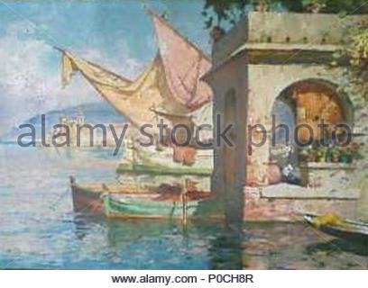 . Français : Camogli, barques de pêche dans le port  .   Émile Beaussier  (1874–1943)     Alternative names Emile Beaussier  Description French painter  Date of birth/death 30 December 1874 18 October 1943  Location of birth/death Avignon Lyon  Authority control  : Q17425774 VIAF: 15044034 ISNI: 0000 0000 0296 930X BNF: 149692545 RKD: 111009 84 Port de Camogli - Stock Photo