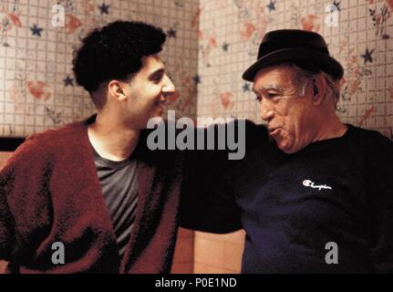 Original Film Title: JUNGLE FEVER.  English Title: JUNGLE FEVER.  Film Director: SPIKE LEE.  Year: 1991.  Stars: ANTHONY QUINN; JOHN TURTURRO. Credit: UNIVERSAL PICTURES / LEE, DAVID / Album - Stock Photo