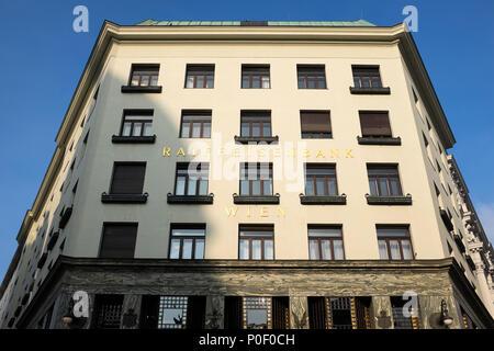 Adolph Loos Raiffeisen Bank or 'Looshaus' - Stock Photo