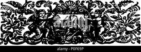 . English: Fleuron from book: A treatise on virtue and happiness. 238 A treatise on virtue and happiness. Fleuron T174208-8 - Stock Photo