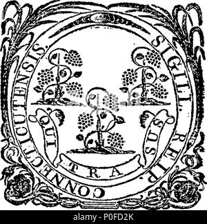 . English: Fleuron from book: Acts and laws of the state of Connecticut, in America. 259 Acts and laws of the state of Connecticut, in America. Fleuron W033320-1