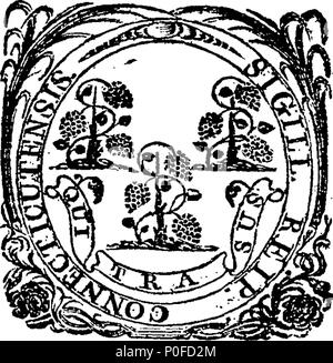 . English: Fleuron from book: Acts and laws of the state of Connecticut, in America. 259 Acts and laws of the state of Connecticut, in America. Fleuron W033320-4