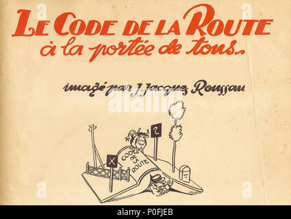 Code De La Route 10 Stock Photo 163682712 Alamy