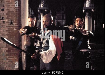 Original Film Title: OTHELLO.  English Title: OTHELLO.  Film Director: OLIVER PARKER.  Year: 1995.  Stars: LAURENCE FISHBURNE. Credit: CASTLE ROCK ENTERTAINMENT / Album - Stock Photo