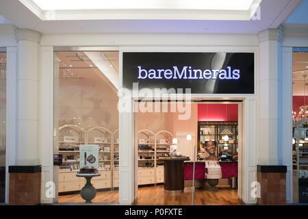Philadelphia, Pennsylvania, May 30 2018:Bare Minerals Retail Store front - Stock Photo