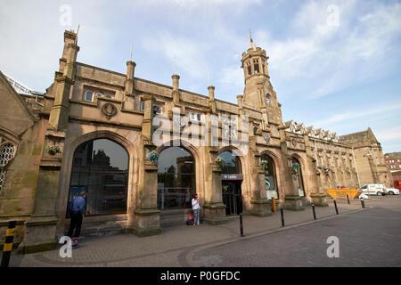 Carlisle railway station Cumbria England UK - Stock Photo