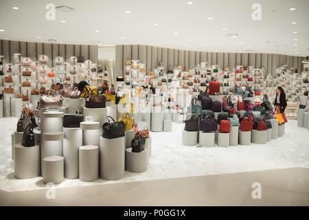 BANGKOK, THAILAND - JANUARY 22, 2017: Fashion products in Siam Discovery Mall, Bangkok, Thailand - Stock Photo