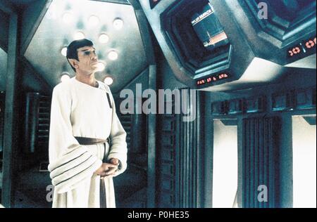 Original Film Title: STAR TREK IV: THE VOYAGE HOME.  English Title: STAR TREK IV: THE VOYAGE HOME.  Film Director: LEONARD NIMOY.  Year: 1986.  Stars: LEONARD NIMOY. Credit: PARAMOUNT PICTURES / Album - Stock Photo