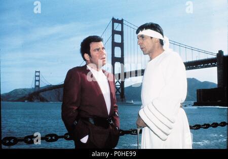 Original Film Title: STAR TREK IV: THE VOYAGE HOME.  English Title: STAR TREK IV: THE VOYAGE HOME.  Film Director: LEONARD NIMOY.  Year: 1986.  Stars: LEONARD NIMOY; WILLIAM SHATNER. Credit: PARAMOUNT PICTURES / Album - Stock Photo