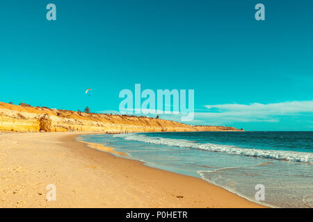 Port Willunga Beach view on a day,  South Australia - Stock Photo