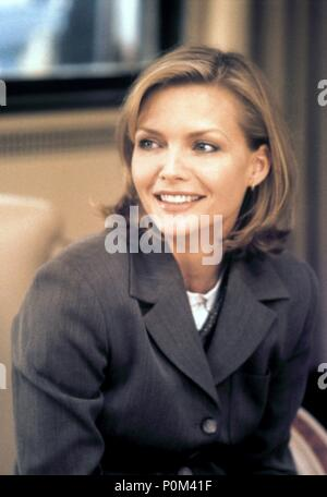 Original Film Title: ONE FINE DAY.  English Title: ONE FINE DAY.  Film Director: MICHAEL HOFFMAN.  Year: 1996.  Stars: MICHELLE PFEIFFER. Credit: 20TH CENTURY FOX / LA MANA, GEMMA / Album - Stock Photo