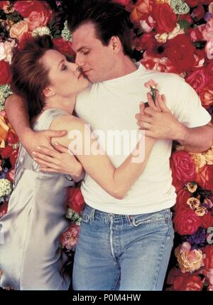 Original Film Title: BED OF ROSES.  English Title: BED OF ROSES.  Film Director: MICHAEL GOLDENBERG.  Year: 1996.  Stars: CHRISTIAN SLATER; MARY STUART MASTERSON. Credit: NEW LINE CINEMA / ZAHEDI, FIROOZ / Album - Stock Photo