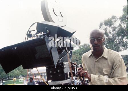 Original Film Title: HIGHER LEARNING.  English Title: HIGHER LEARNING.  Film Director: JOHN SINGLETON.  Year: 1995.  Stars: JOHN SINGLETON. Credit: COLUMBIA TRI STAR / REED, ELI / Album - Stock Photo