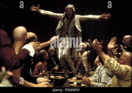 Original Film Title: QUILLS.  English Title: QUILLS.  Film Director: PHILIP KAUFMAN.  Year: 2000.  Stars: GEOFFREY RUSH. Credit: FOX SEARCHLIGHT PICTURES / APPLEBY, DAVID / Album - Stock Photo