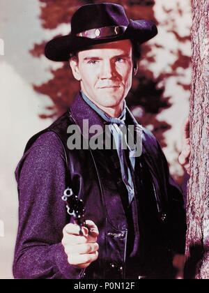 Original Film Title: BONANZA-TV.  English Title: BONANZA.  Film Director: ROBERT ALTMAN; LEWIS ALLEN.  Year: 1959.  Stars: JACK CASSIDY. Credit: NATIONAL BROADCASTING CO. / Album - Stock Photo