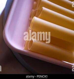 Raw cannelloni pasta - Stock Photo