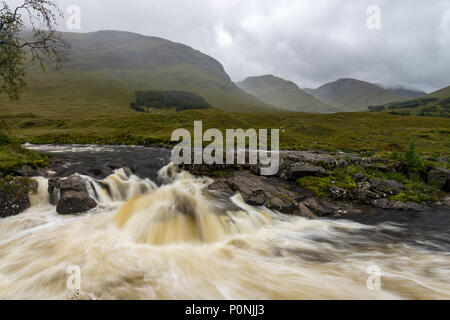 Buachaille Etive Mor in the Scottish Highlands, Scotland - Stock Photo
