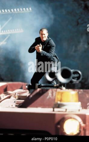 Original Film Title: UNDER SIEGE 2: DARK TERRITORY.  English Title: UNDER SIEGE 2: DARK TERRITORY.  Film Director: GEOFF MURPHY.  Year: 1995.  Stars: STEVEN SEAGAL. Credit: WARNER BROTHERS / Album - Stock Photo