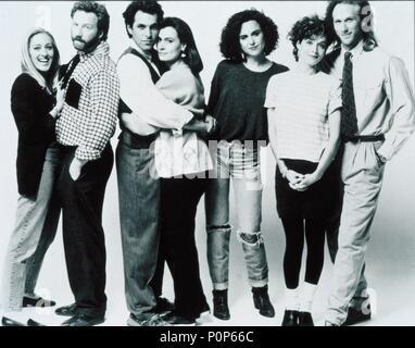 Original Film Title: THIRTYSOMETHING.  English Title: THIRTYSOMETHING.  Year: 1987.  Stars: MELANIE MAYRON; TIMOTHY BUSFIELD; POLLY DRAPER; PETER HORTON; KEN OLIN; MEL HARRIS; PATRICIA WETTING. Credit: MGM TELEVISION / Album - Stock Photo