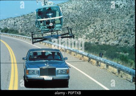 Original Film Title: CANNONBALL RUN II.  English Title: CANNONBALL RUN II.  Film Director: HAL NEEDHAM.  Year: 1984. Credit: GOLDEN HARVEST/WARNER / Album - Stock Photo