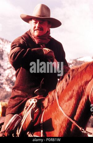 JOHN WAYNE, THE SHOOTIST, 1976 Stock Photo: 239402373 - Alamy
