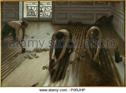 Gustave Caillebotte Les Raboteurs De Parquet 233 Tude