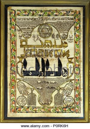 Amulet For Protection Against Lilith The Demon From The Sefer