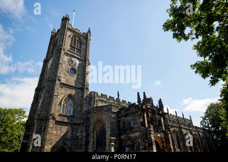 Lancaster Priory priory church of st mary Lancaster Lancashire England UK - Stock Photo