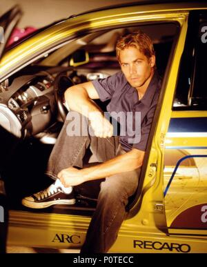 Original Film Title: 2 FAST 2 FURIOUS.  English Title: 2 FAST 2 FURIOUS.  Film Director: JOHN SINGLETON.  Year: 2003.  Stars: PAUL WALKER. Credit: UNIVERSAL PICTURES / Album - Stock Photo