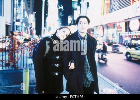 Original Film Title: LOSER.  English Title: LOSER, THE.  Film Director: AMY HECKERLING.  Year: 2000.  Stars: JASON BIGGS; MENA SUVARI. Credit: COLUMBIA PICTURES / Album - Stock Photo