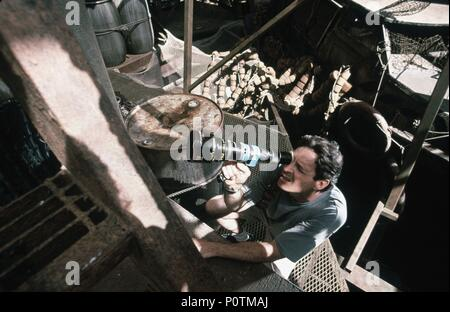 Original Film Title: WATERWORLD.  English Title: WATERWORLD.  Film Director: KEVIN REYNOLDS.  Year: 1995. Credit: UNIVERSAL PICTURES / GLASS, BEN / Album - Stock Photo